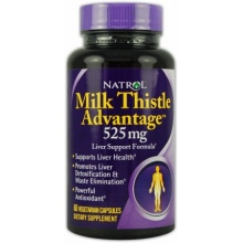 Бад Natrol Milk Thistle Advantage  60 cap
