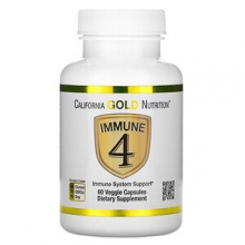 Витамины California Gold Nutrition Immune 4 60 капс